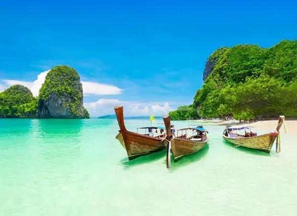 Viaje a la playa de bangkok