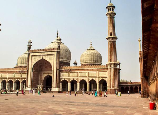 Viaje Jama Masjid, Delhi