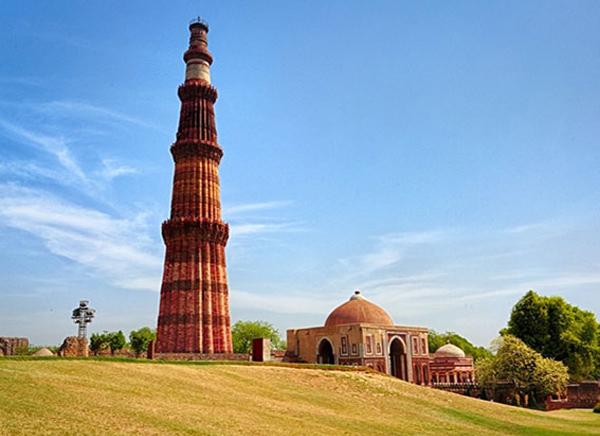 viaje a delhi qutub minar