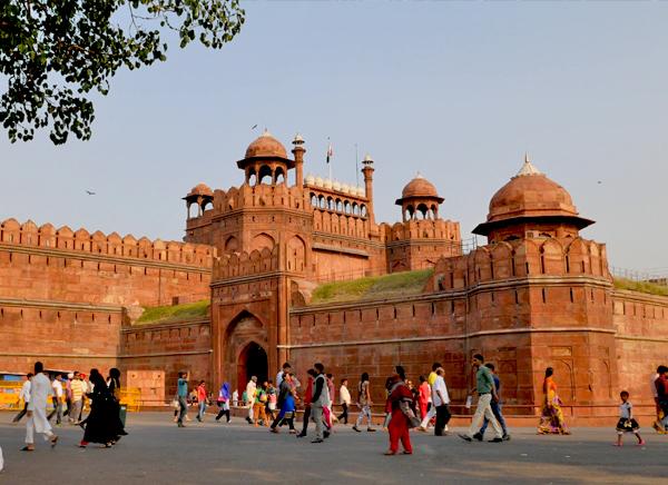 Viaje a Delhi Red Fort