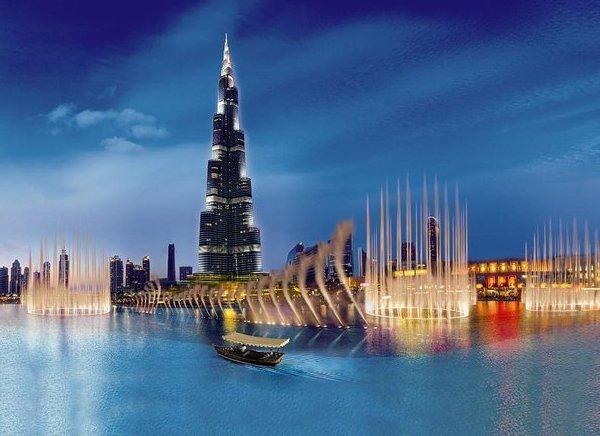 Viaje a Dubai Burj Khalifa
