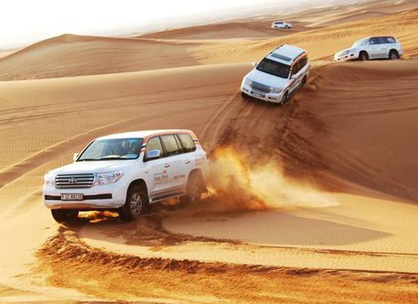 Viaje al desierto safri en dubai