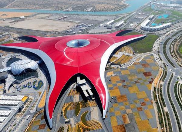 Viaje a Dubai Ferrari World
