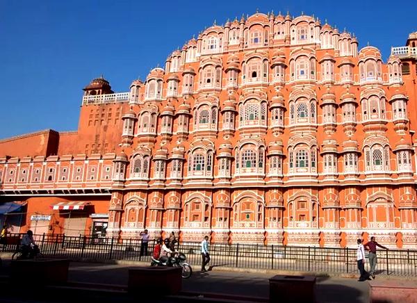 viaje a Jaipur Hawa Mahal