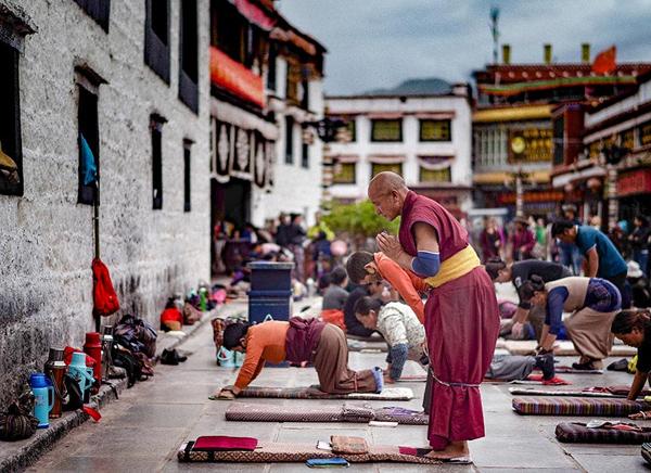 Viajar a lahsa, Tibet