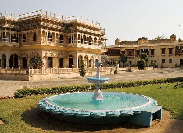 viaje a Jaipur Mubarak Mahal