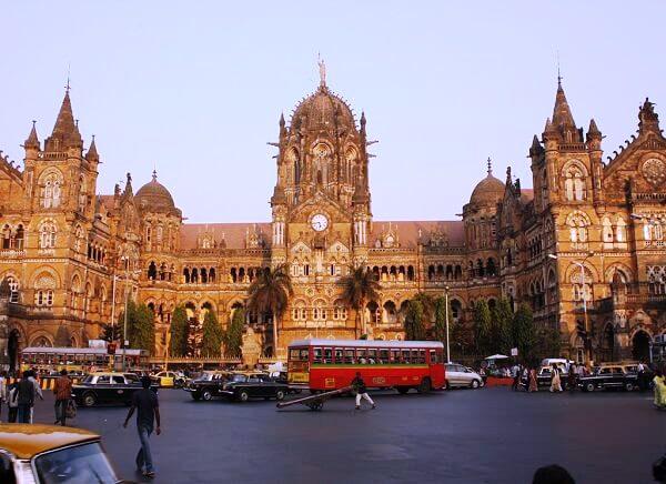 India Triángulo dorado con Bombay